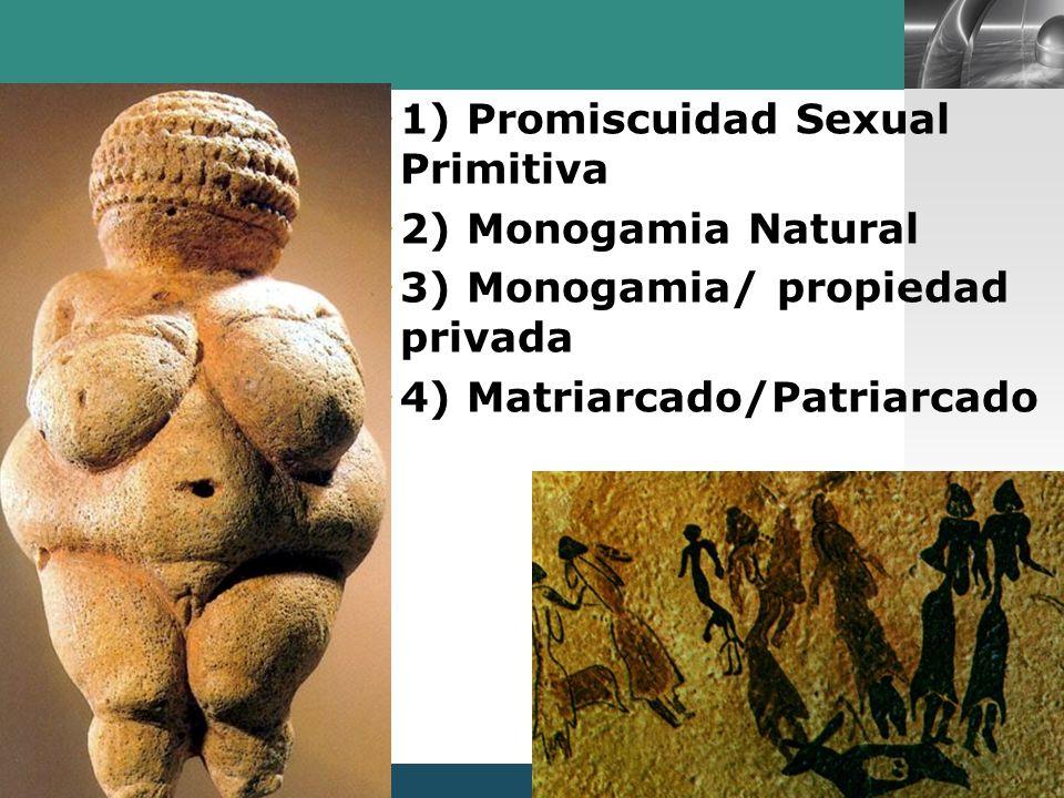 1) Promiscuidad Sexual Primitiva
