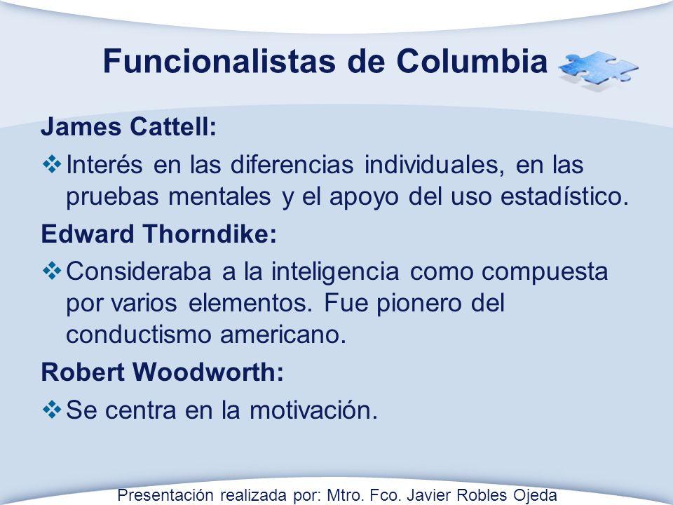 Funcionalistas de Columbia