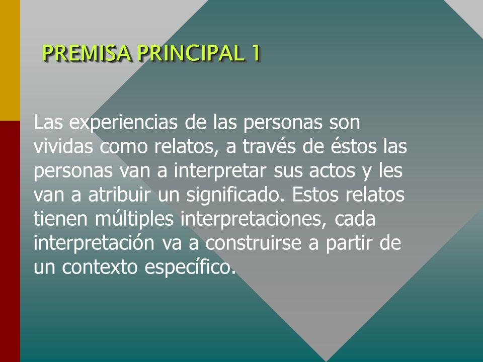 PREMISA PRINCIPAL 1