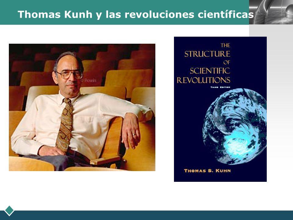 Thomas Kunh y las revoluciones científicas