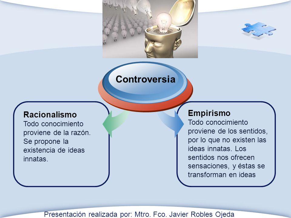 Controversia Empirismo Racionalismo