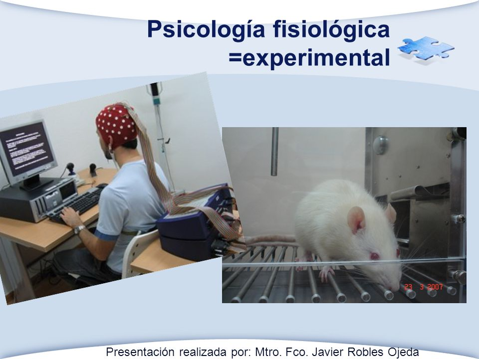 Psicología fisiológica =experimental