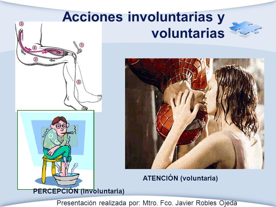 Acciones involuntarias y voluntarias