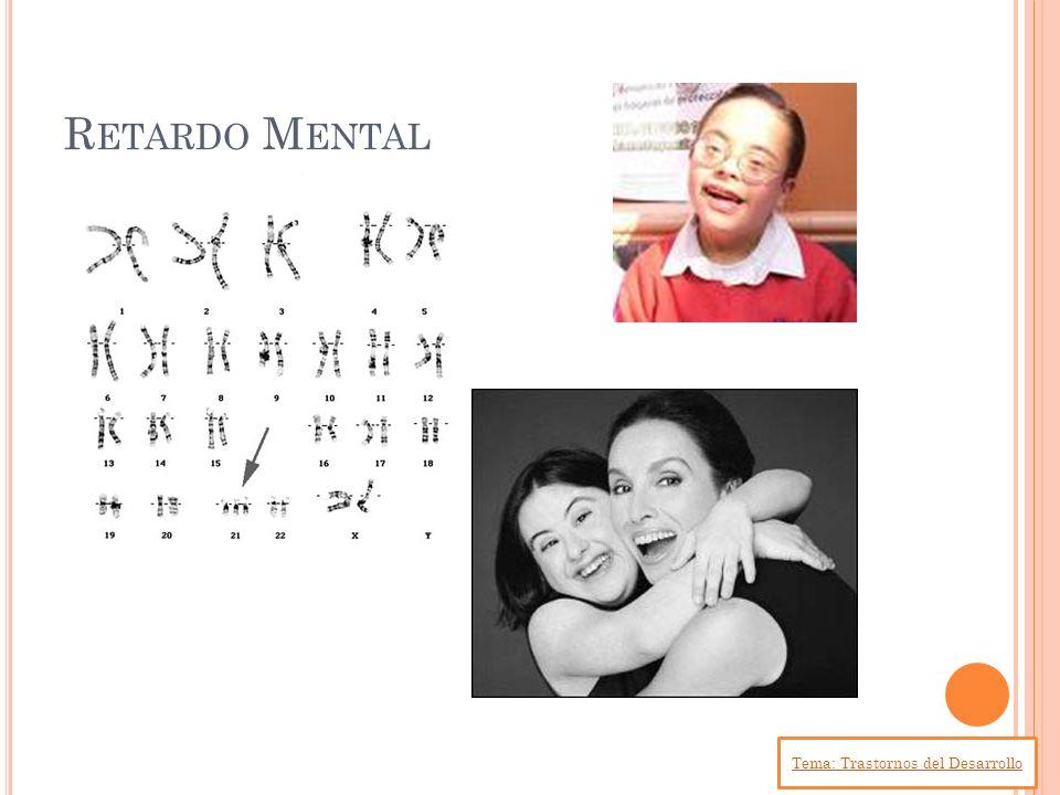 Tema: Trastornos del Desarrollo