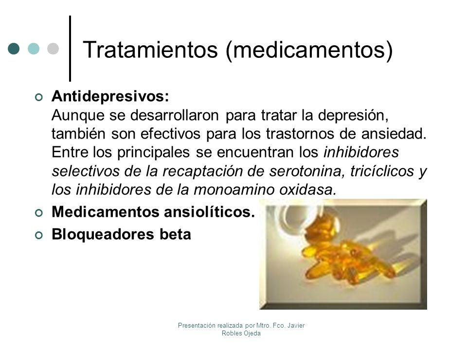 Tratamientos (medicamentos)