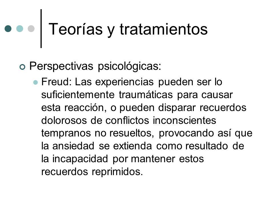 Teorías y tratamientos