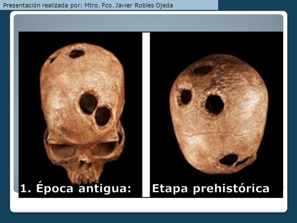 1. Época antigua: Etapa prehistórica