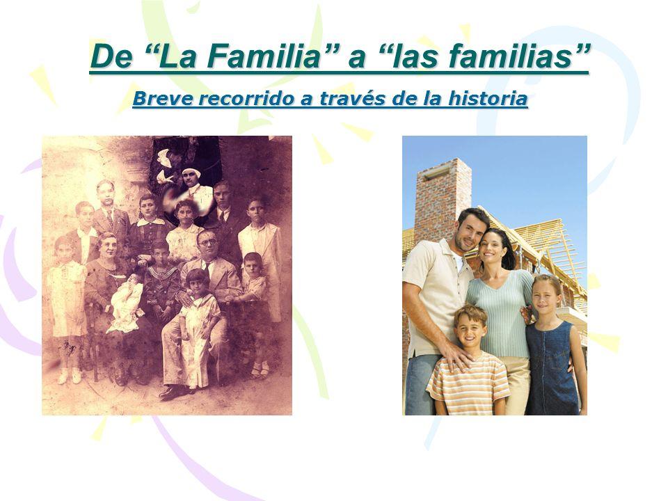 De La Familia a las familias