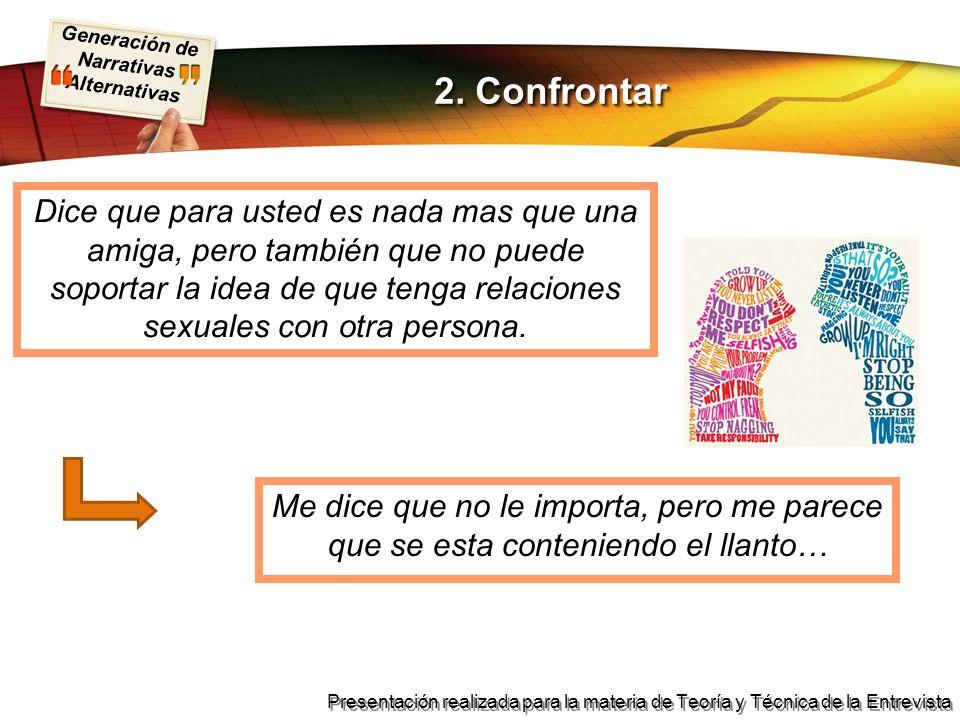2. Confrontar