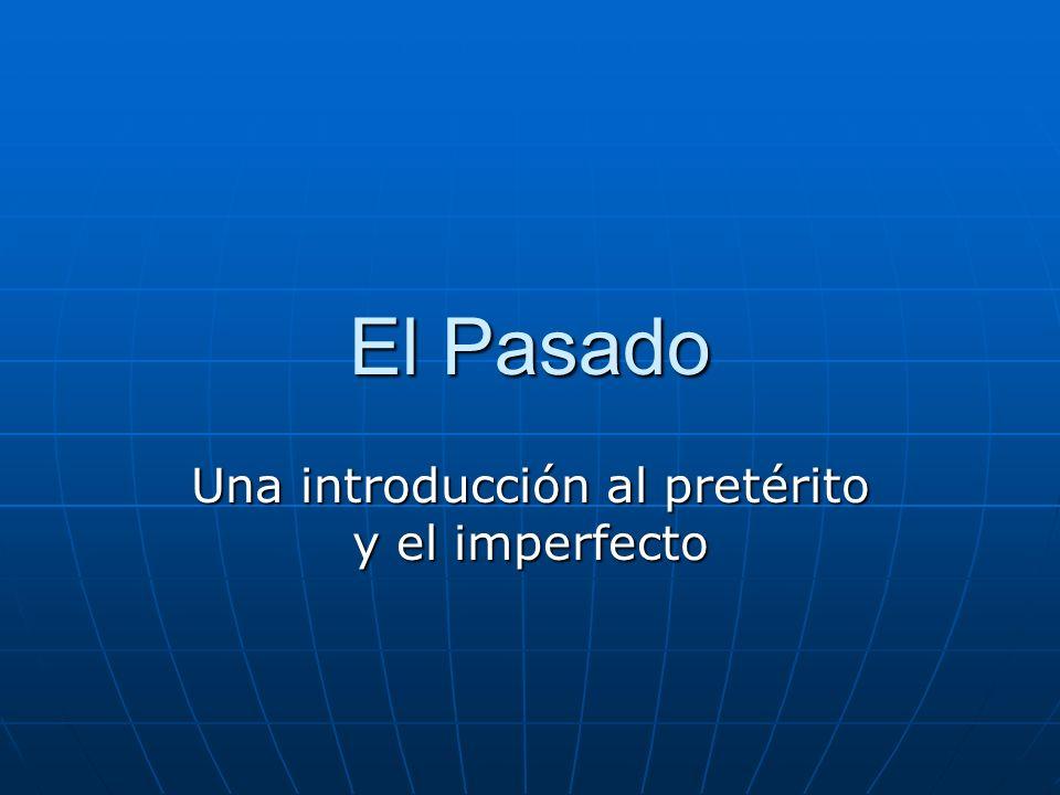 Una introducción al pretérito y el imperfecto