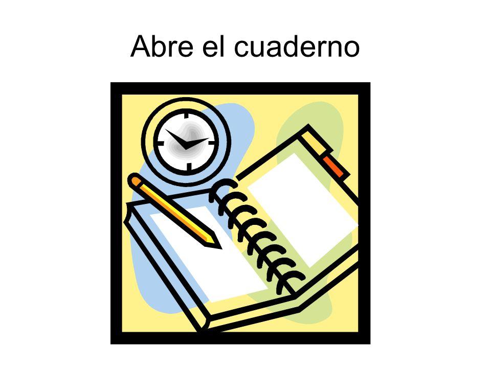 Abre el cuaderno
