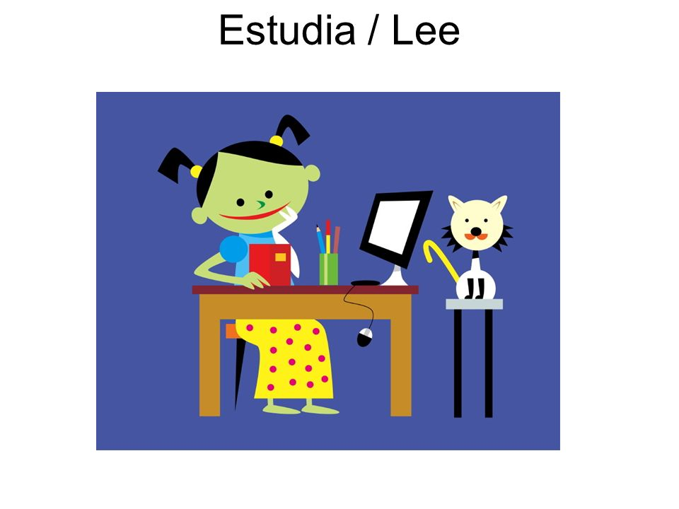 Estudia / Lee