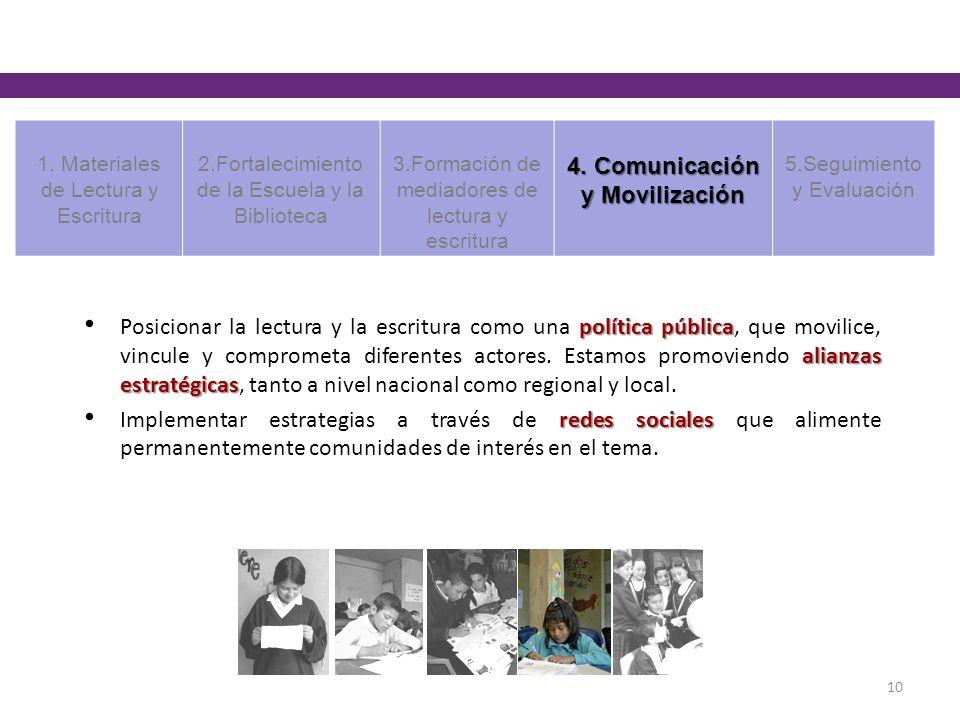 4. Comunicación y Movilización