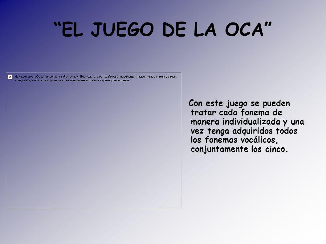 EL JUEGO DE LA OCA