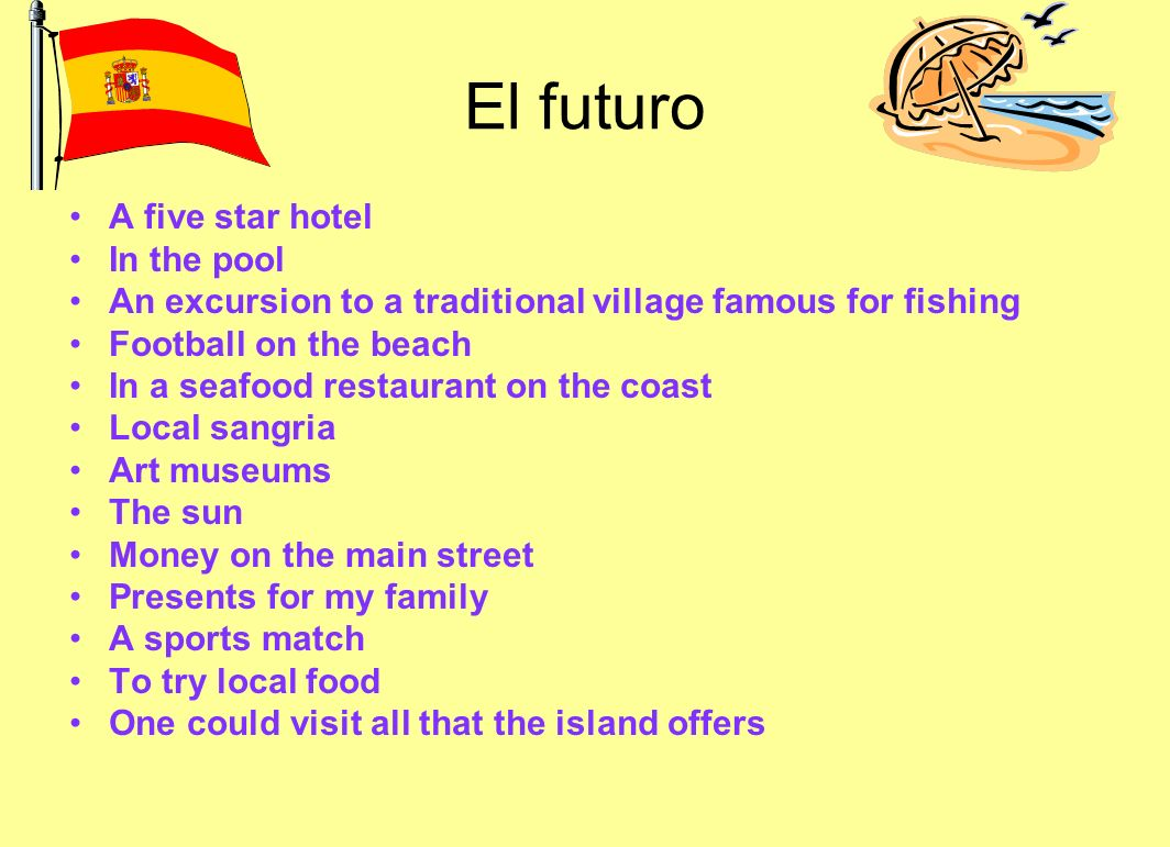 El futuro A five star hotel In the pool
