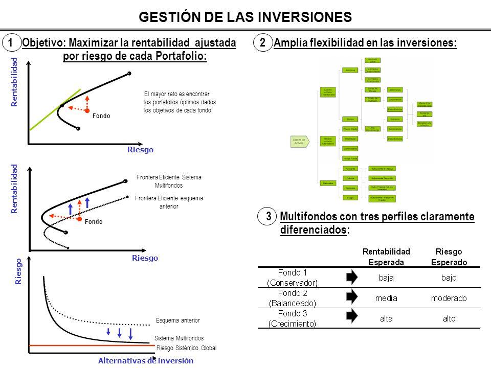 GESTIÓN DE LAS INVERSIONES