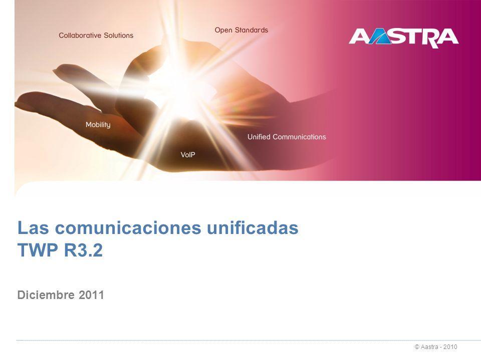 Las comunicaciones unificadas TWP R3.2