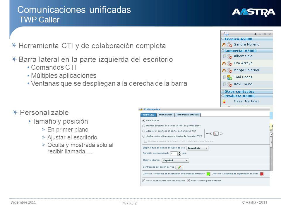 Comunicaciones unificadas TWP Caller