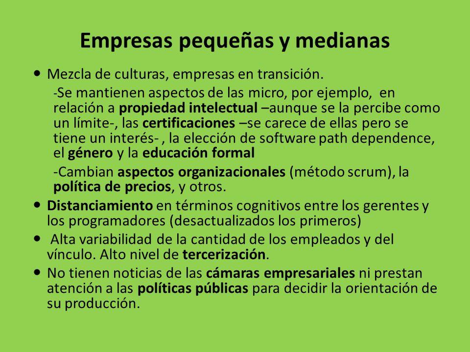 Empresas pequeñas y medianas