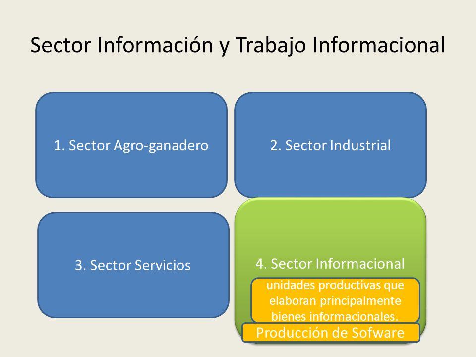 Sector Información y Trabajo Informacional