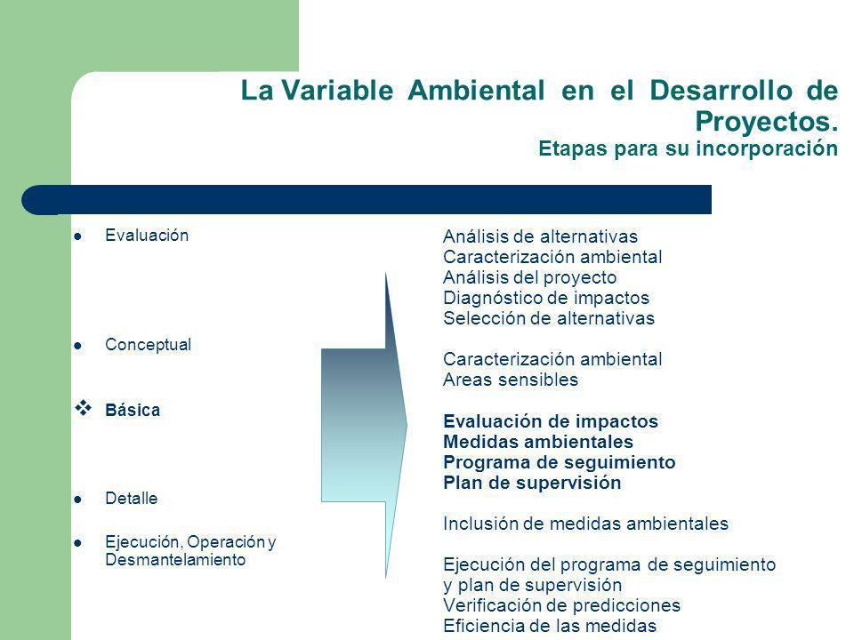 La Variable Ambiental en el Desarrollo de Proyectos