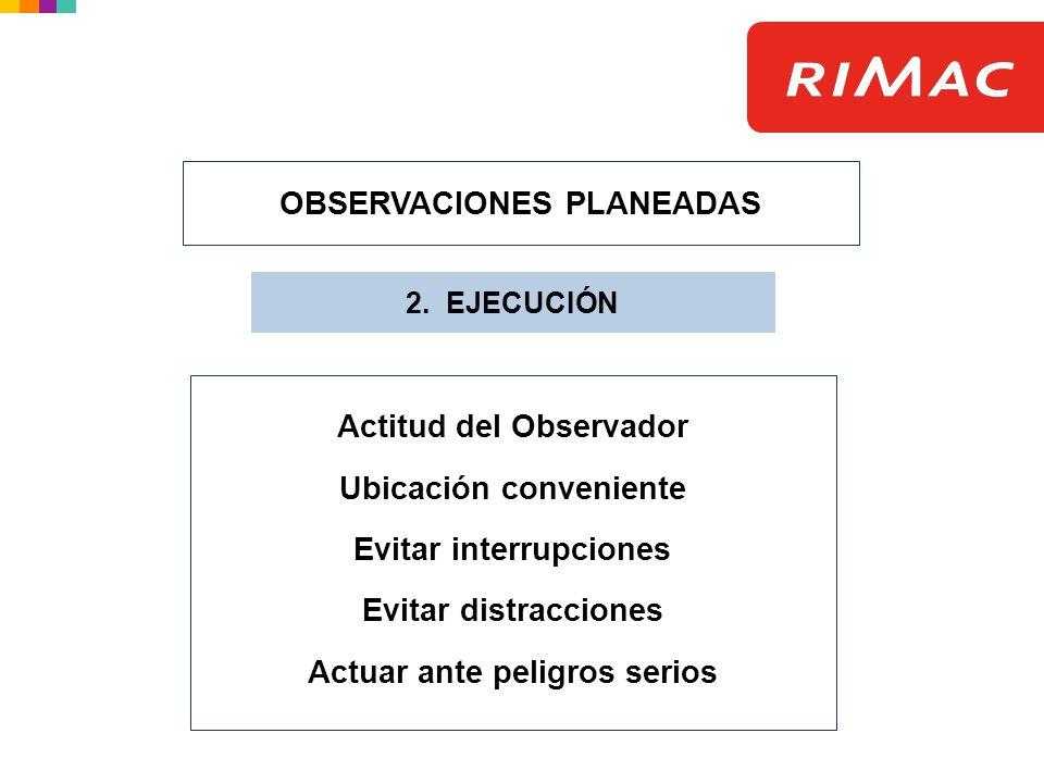 OBSERVACIONES PLANEADAS
