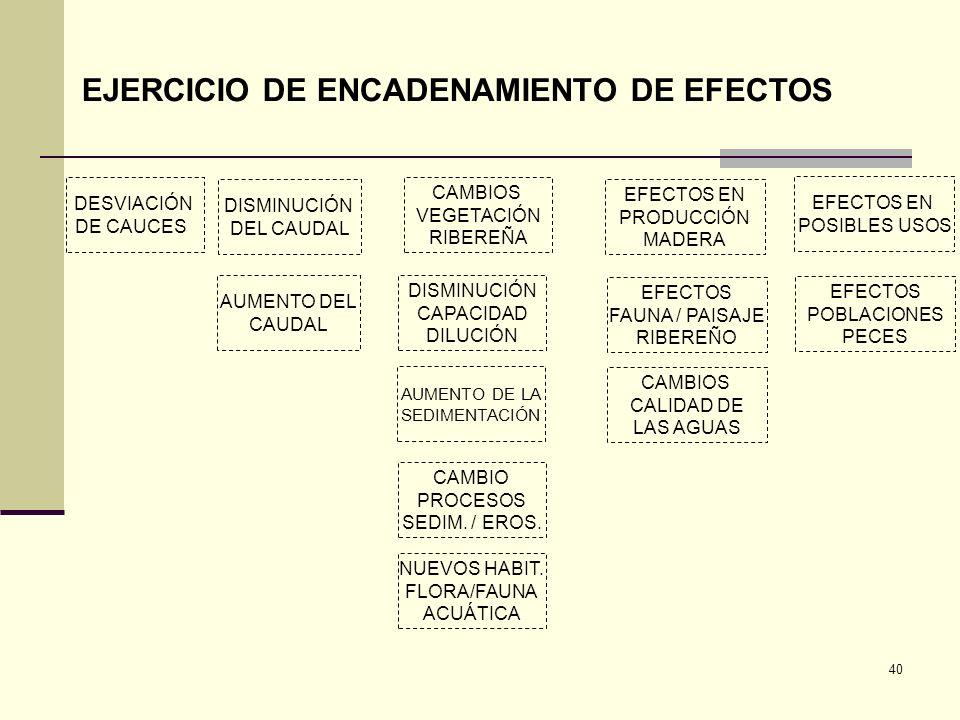 EJERCICIO DE ENCADENAMIENTO DE EFECTOS