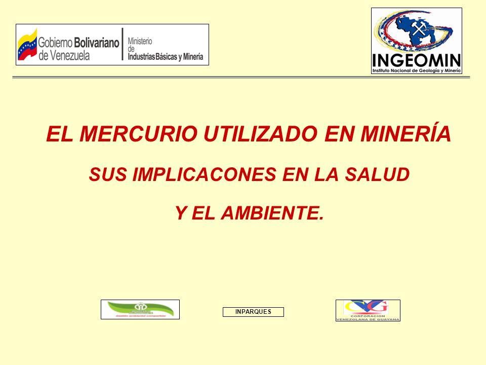 EL MERCURIO UTILIZADO EN MINERÍA SUS IMPLICACONES EN LA SALUD