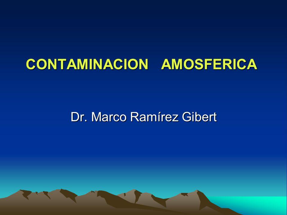 CONTAMINACION AMOSFERICA