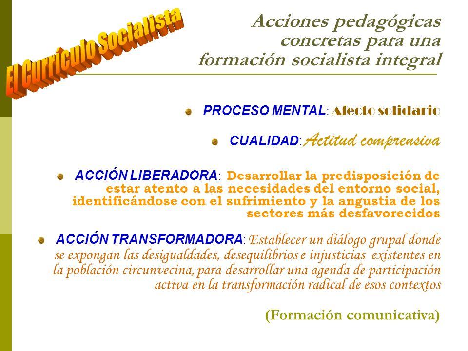 El Currículo Socialista