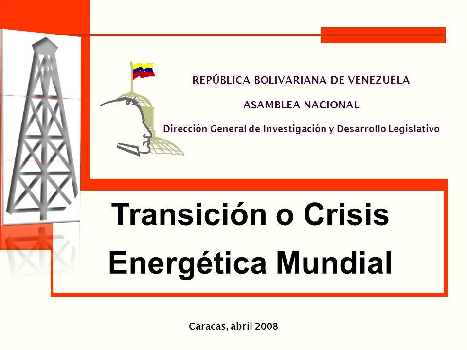 Transición o Crisis Energética Mundial