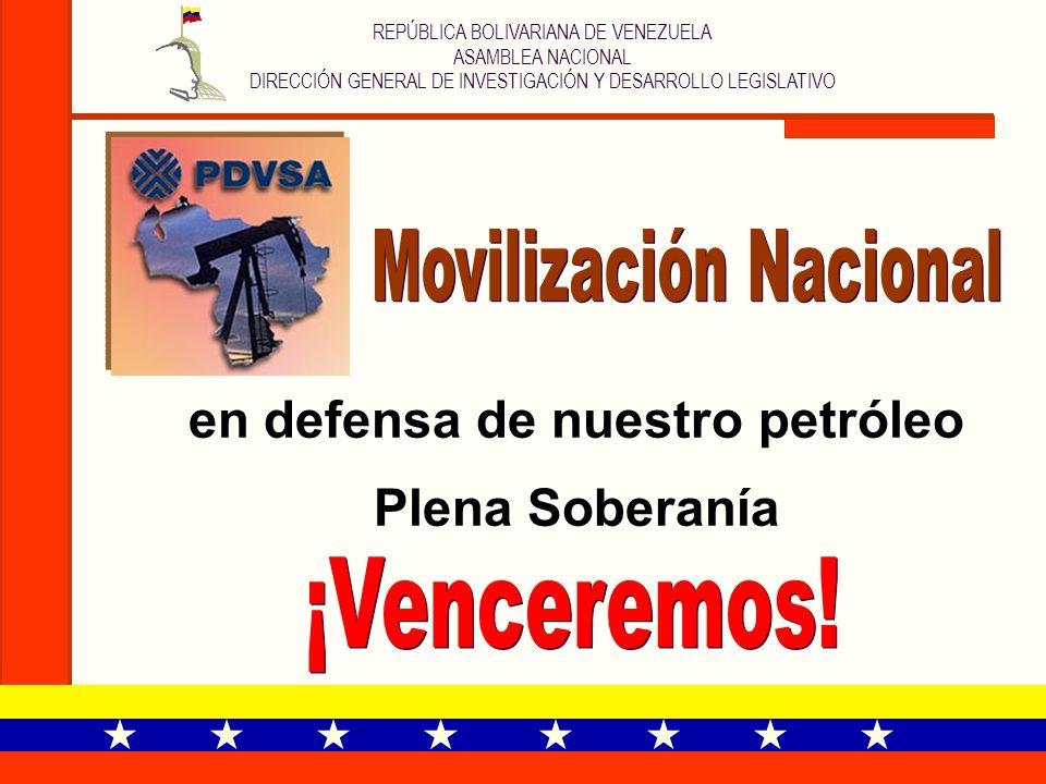 en defensa de nuestro petróleo