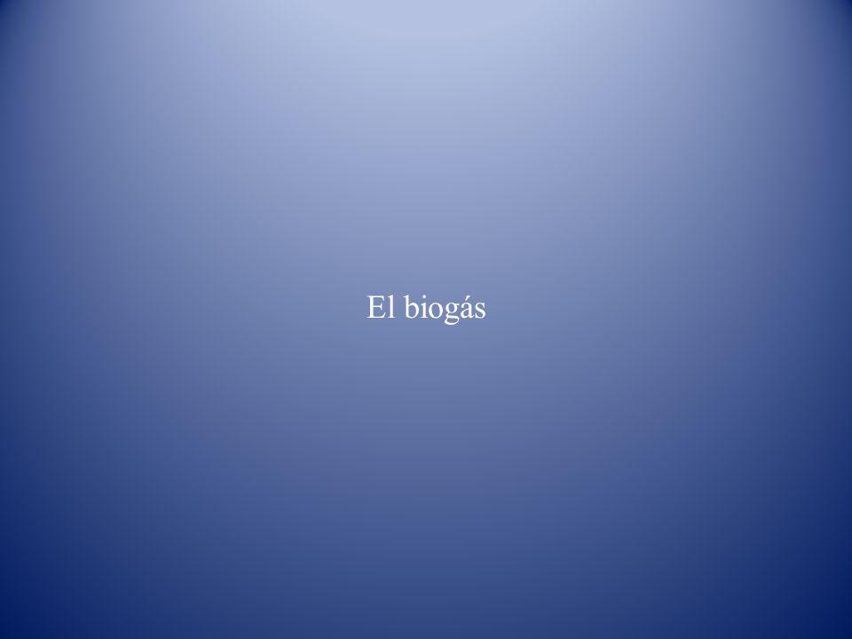El biogás