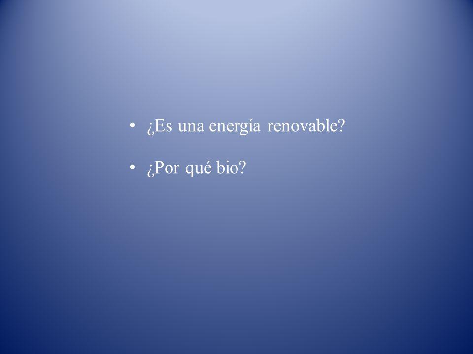 ¿Es una energía renovable