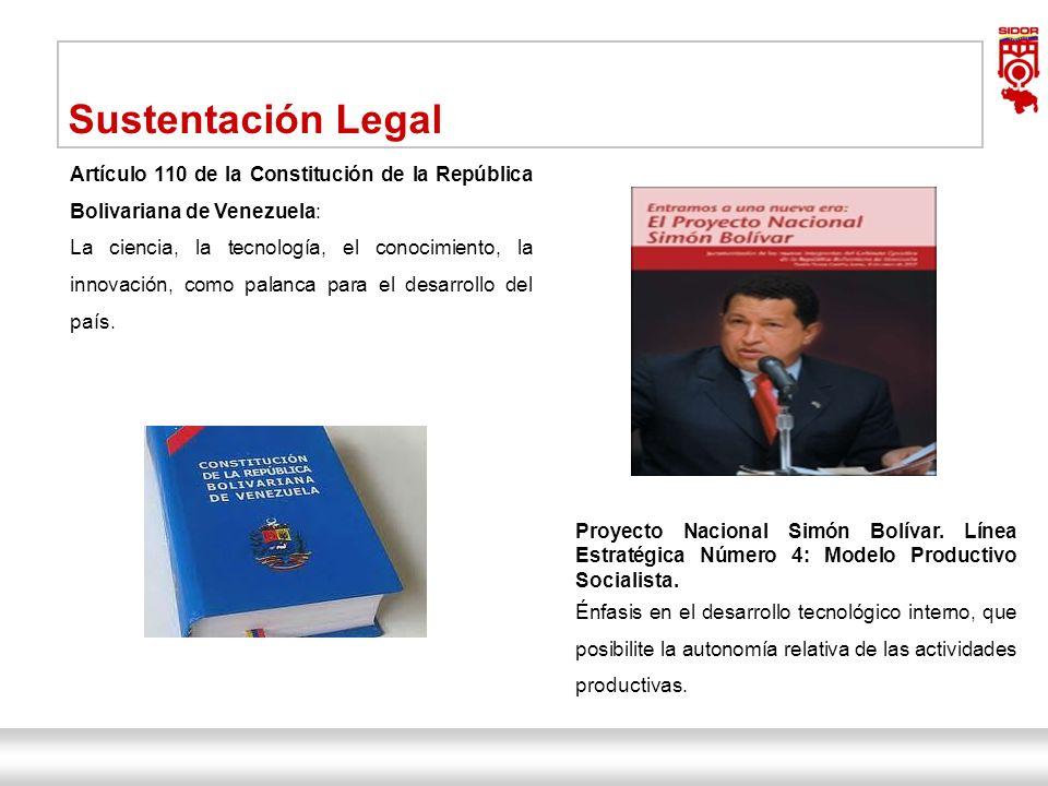 Sustentación Legal Artículo 110 de la Constitución de la República Bolivariana de Venezuela:
