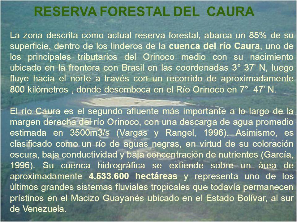 RESERVA FORESTAL DEL CAURA