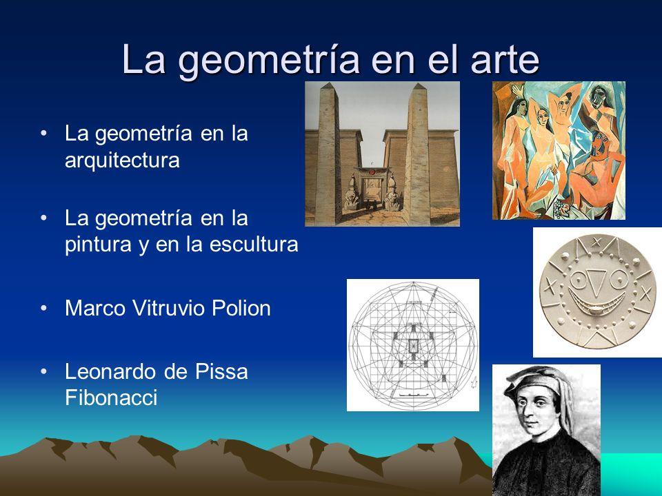 La geometría en el arte La geometría en la arquitectura