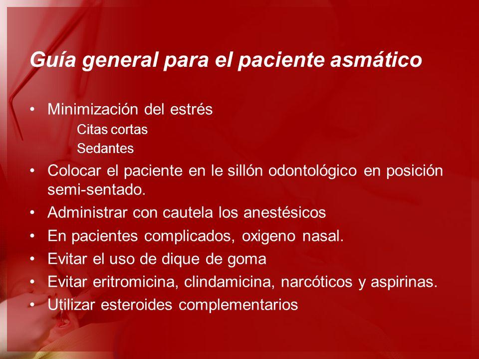 Guía general para el paciente asmático