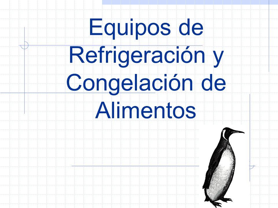 Equipos de Refrigeración y Congelación de Alimentos