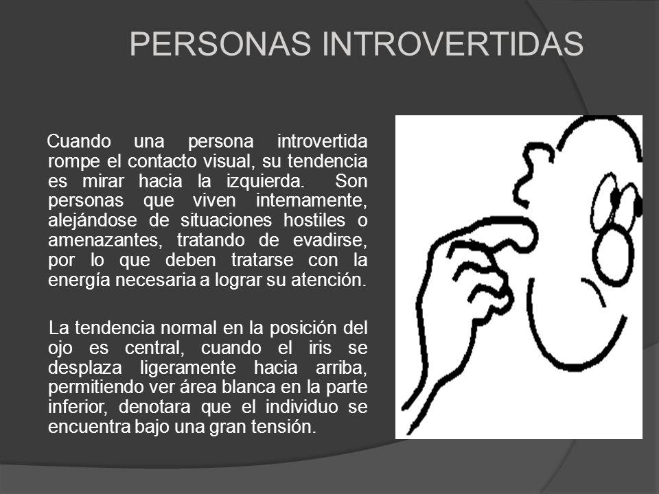 PERSONAS INTROVERTIDAS