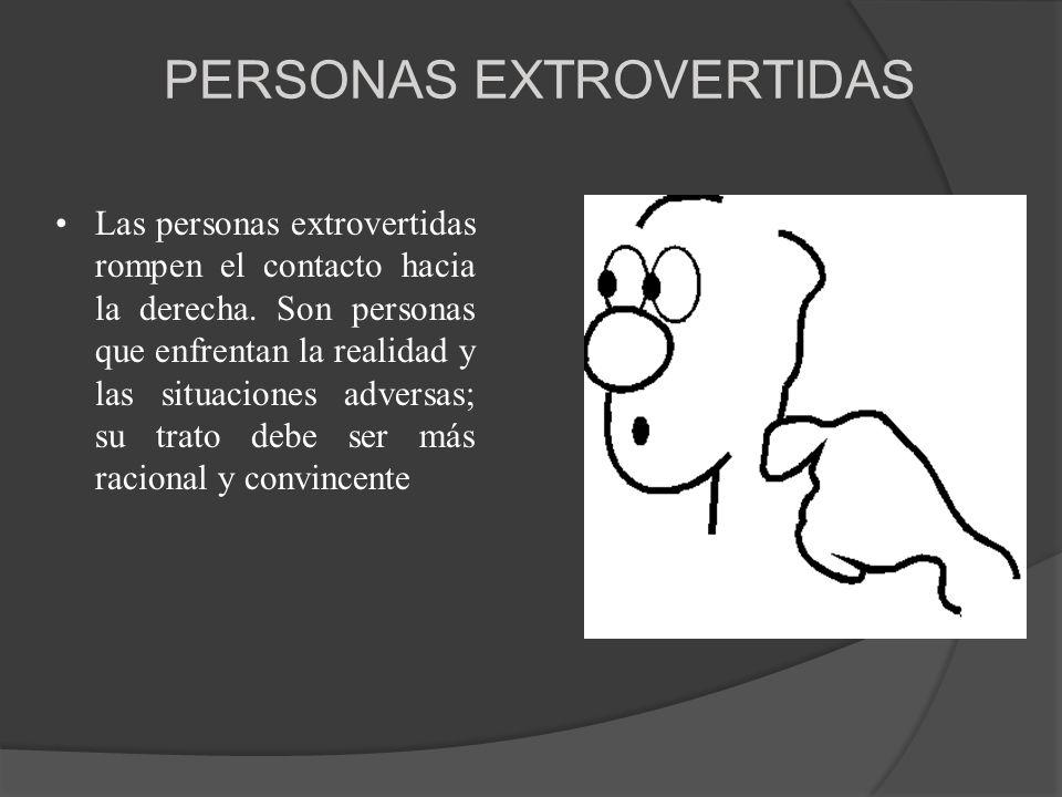 PERSONAS EXTROVERTIDAS