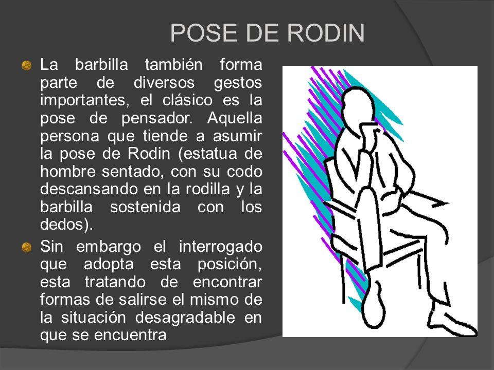 POSE DE RODIN