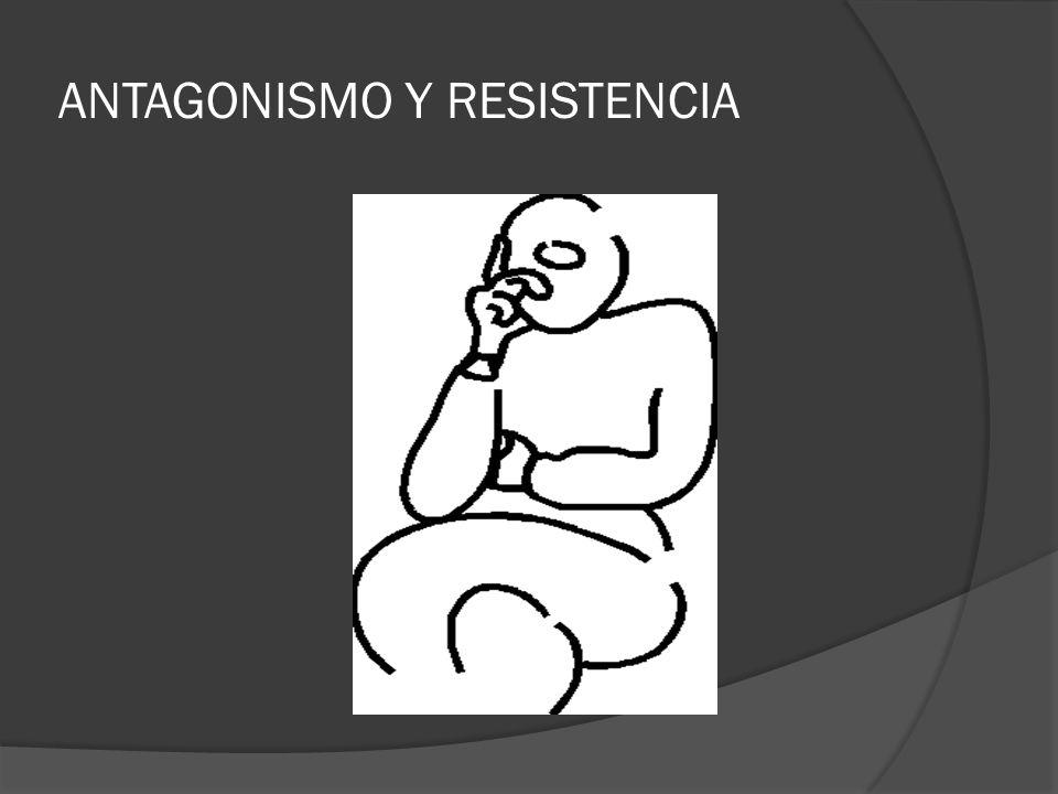 ANTAGONISMO Y RESISTENCIA
