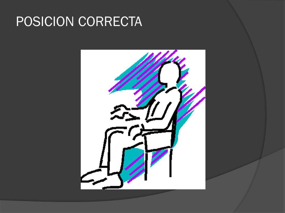 POSICION CORRECTA