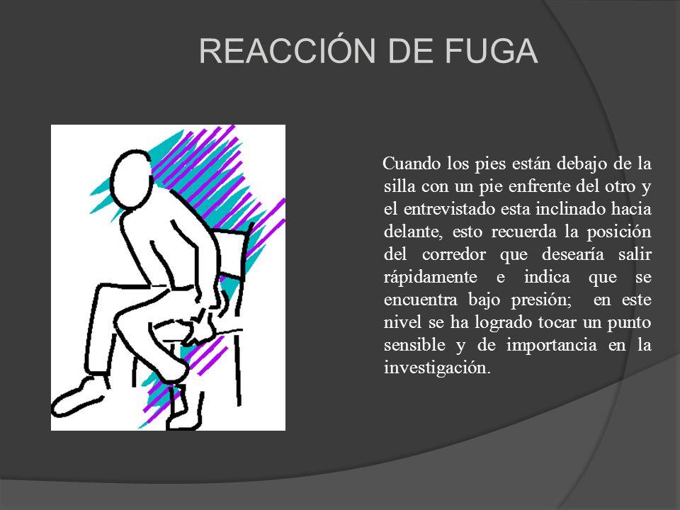 REACCIÓN DE FUGA