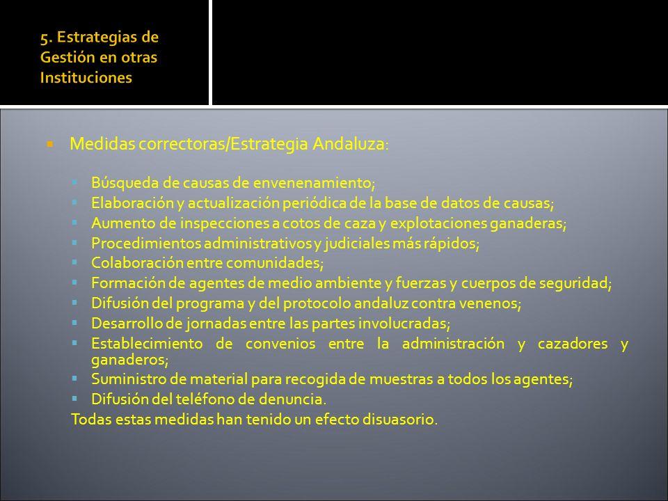 5. Estrategias de Gestión en otras Instituciones