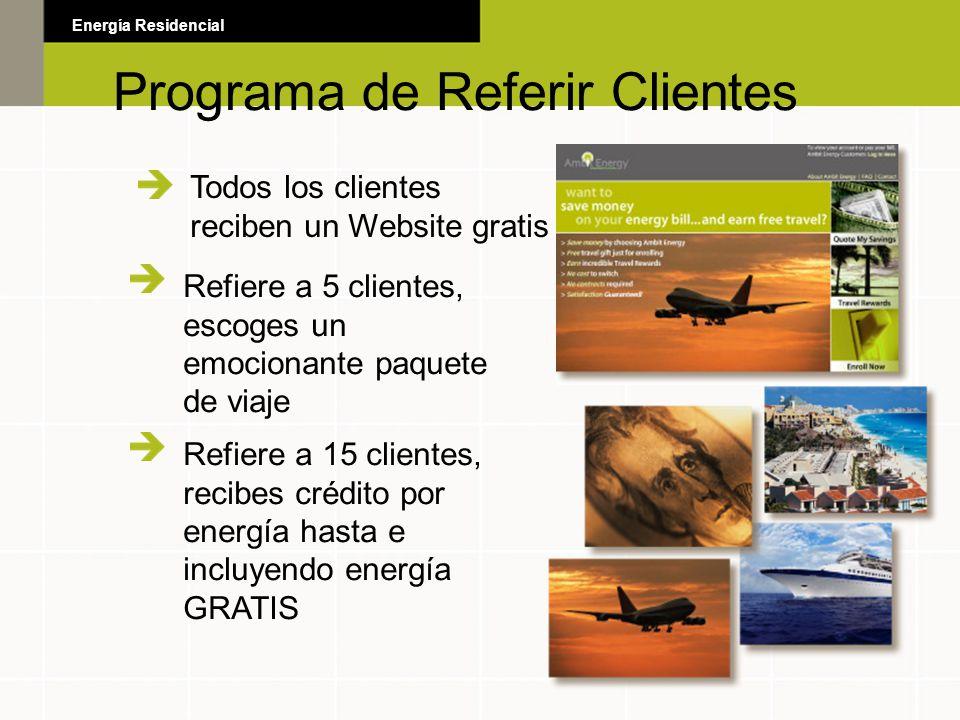 Programa de Referir Clientes