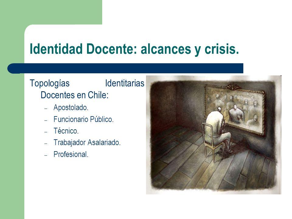 Identidad Docente: alcances y crisis.