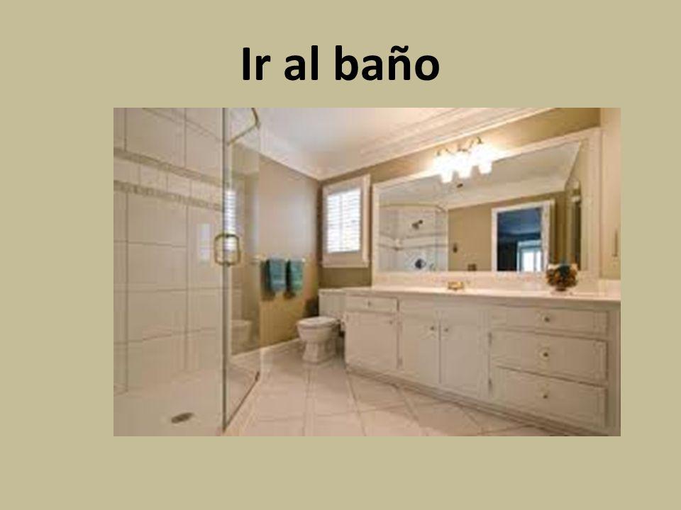 Ir al baño