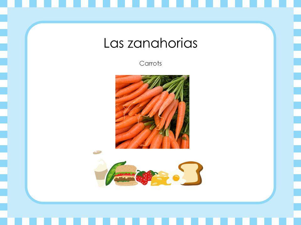 Las zanahorias Carrots